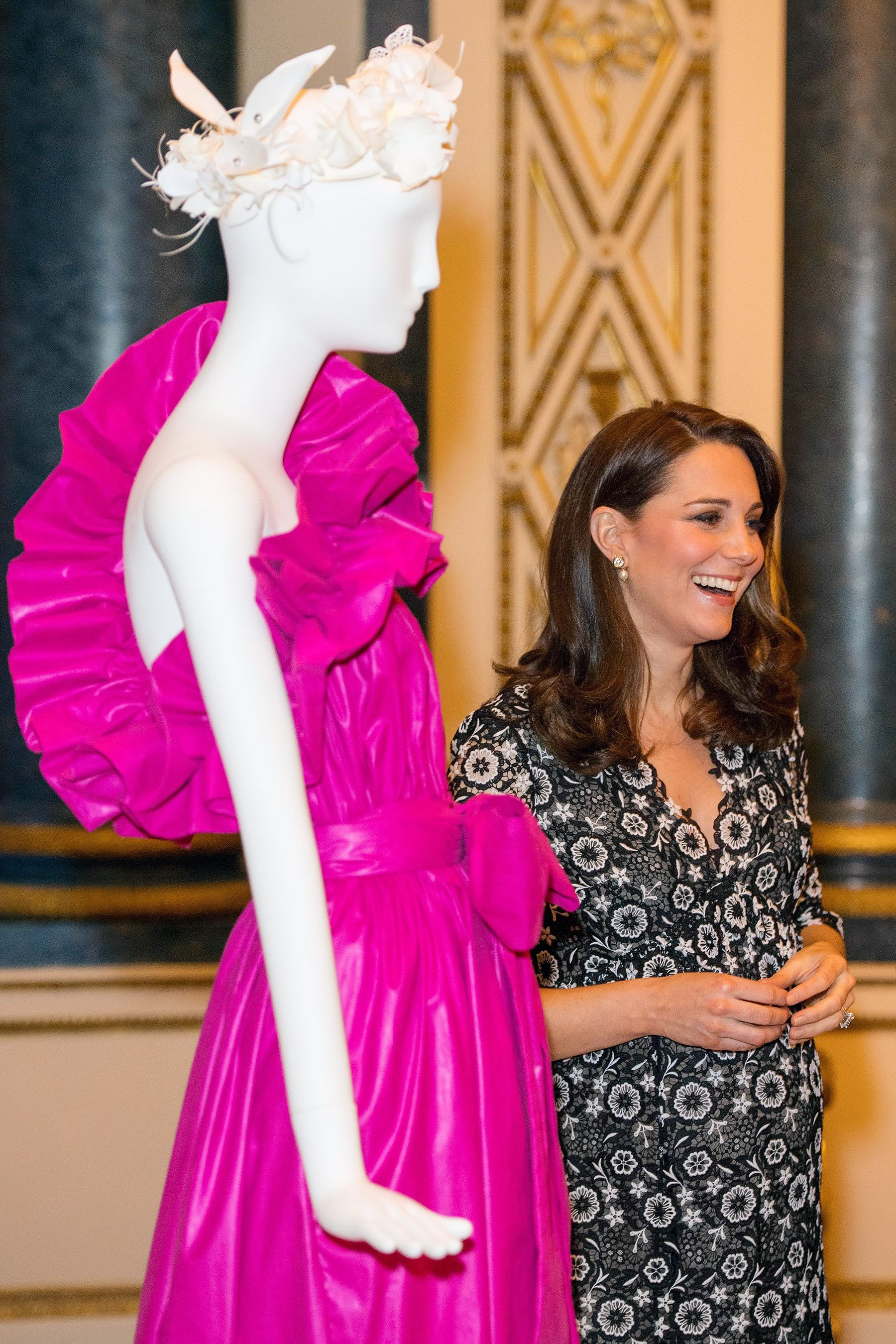 Kate Middleton Steps Out in Black-and-White for Fashion Event Amid ...