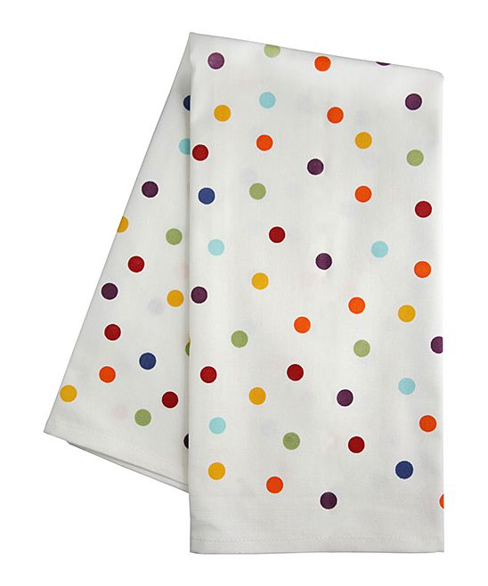 Polka Dot Dish Towel Home Kitchen Anything Everything
