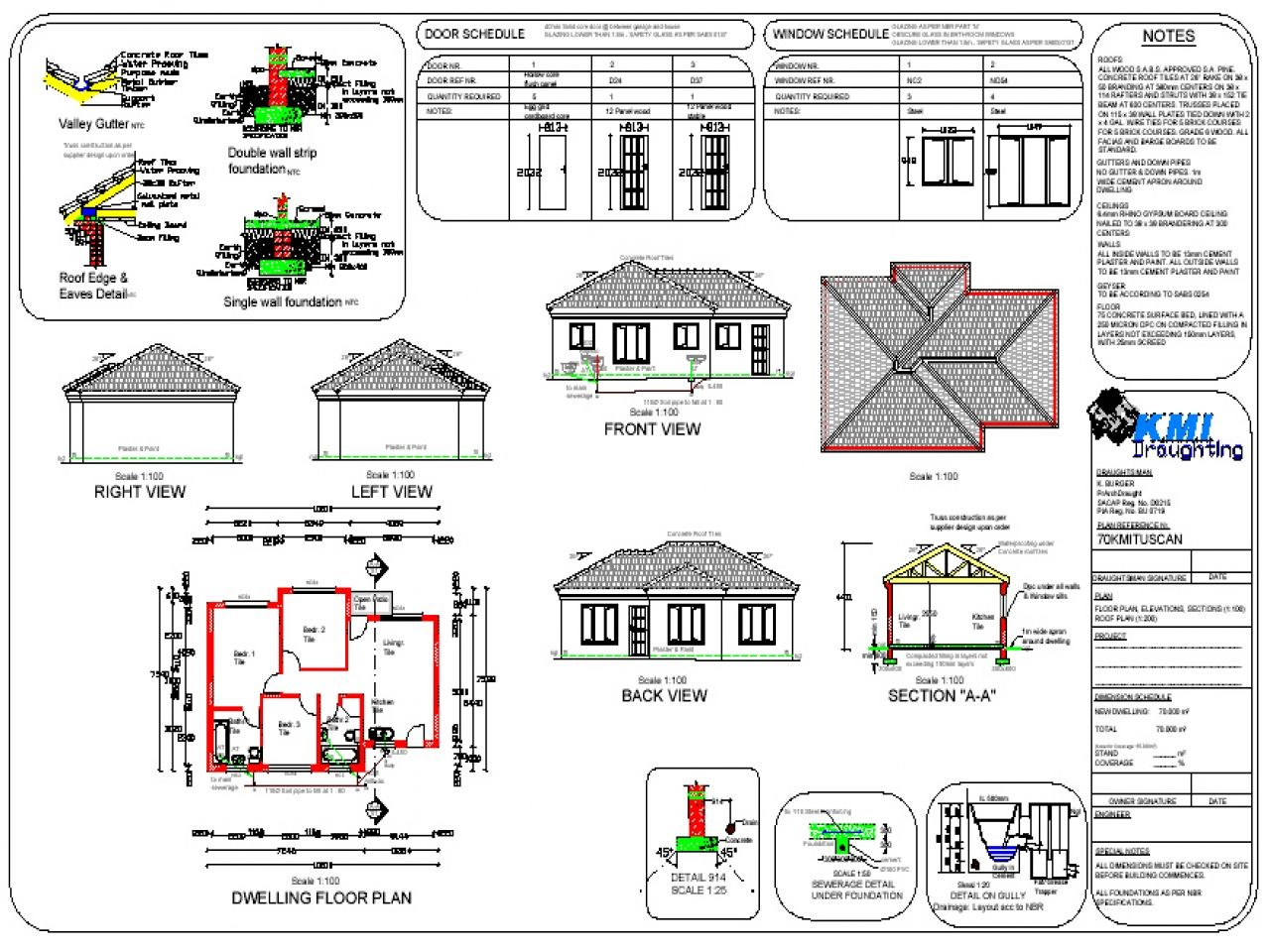 South African Modern House Plans Pdf House Plans South Africa Free House Plans Single Storey House Plans