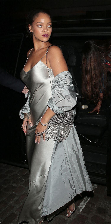 Rihanna wore a Nili Lotan dress to the Valerian premiere ...