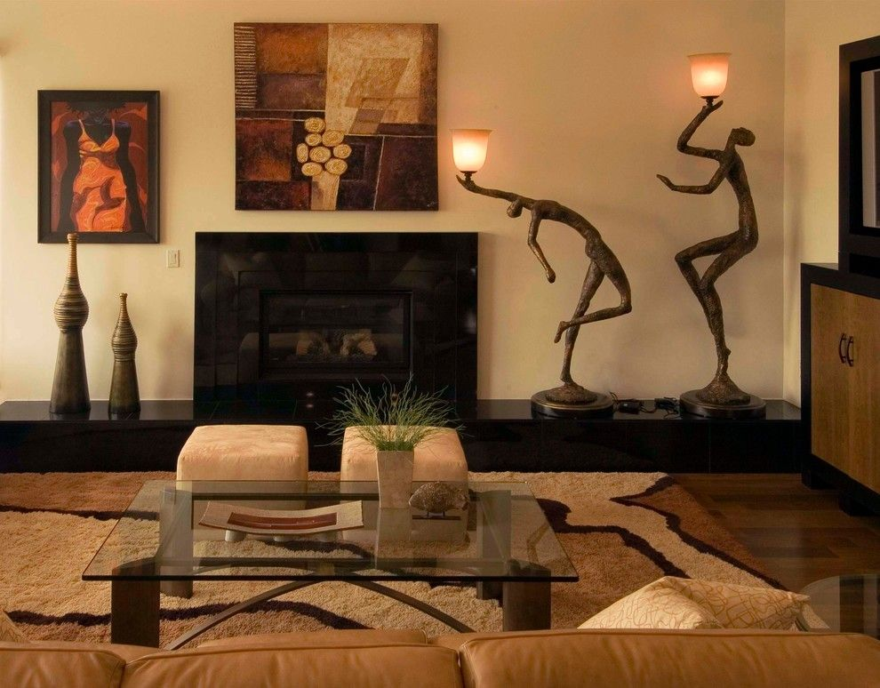 Nice Living Room African Safari Decor Design Ideas Pictures Remodel And Pa