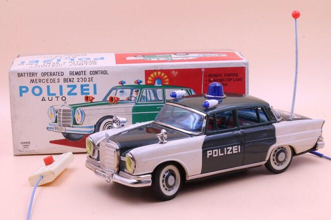 Ichiko Mercedes Benz Se Door Sedan Police Car Japan