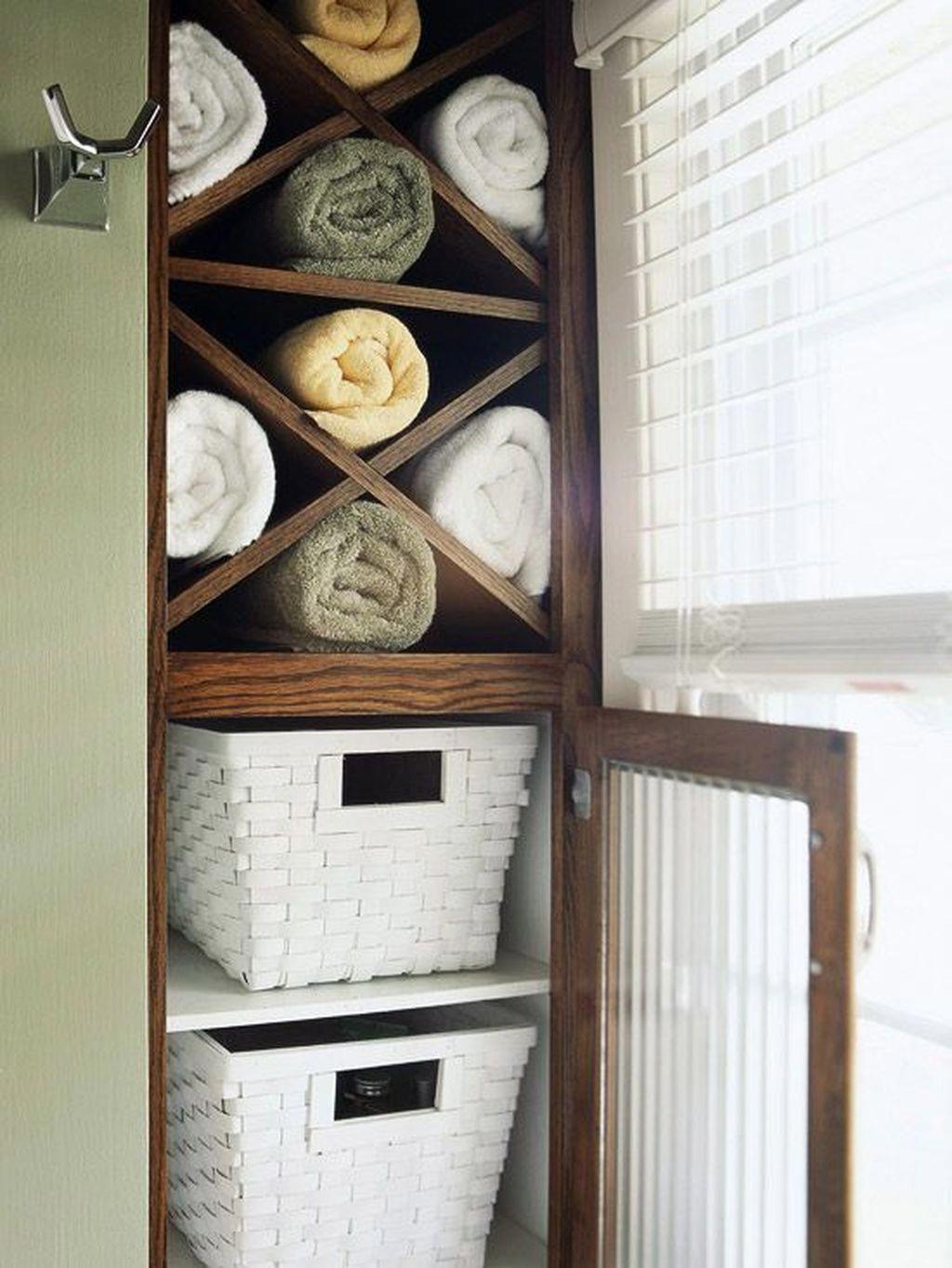 small bathroom storage ideas for towels small bathroom storage in rh pinterest com