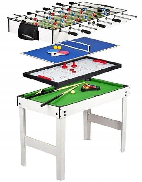 Zestaw Gier Bilard Tenis Pilkarzyki Cymbergaj 4w1 9350269377 Allegro Pl Multi Game Table Table Football Table Games