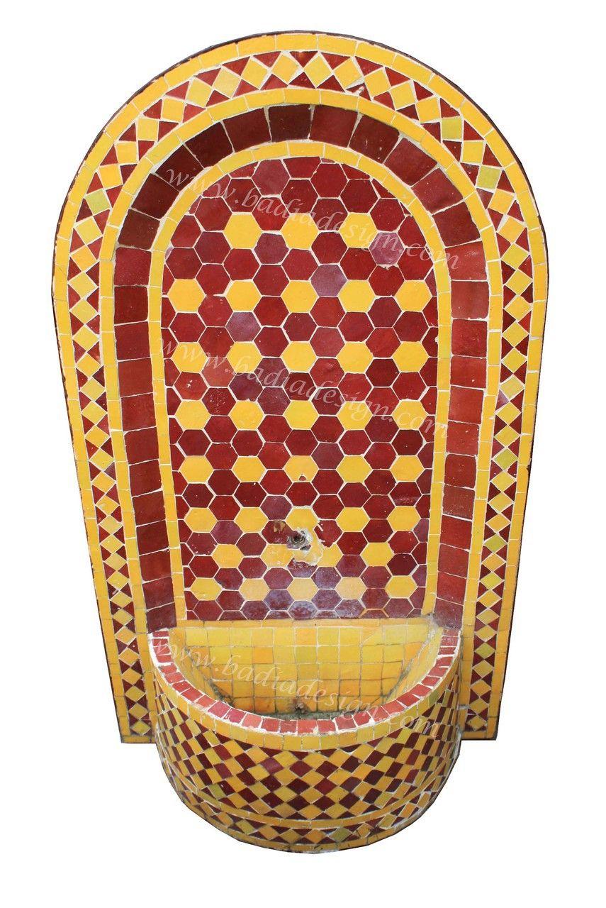 Mediterranean living room los angeles by badia design inc - Badia Design Inc Store Mosaic Tile Water Fountain Mf006 Http