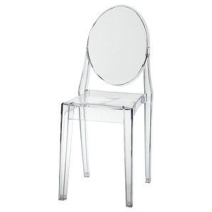 Replica Philippe Starck Ghost Chair, Target, $59AUD