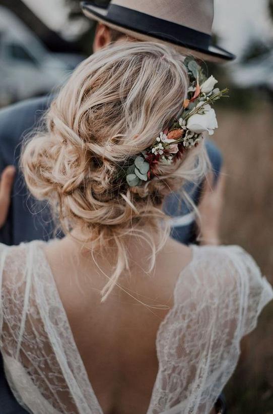 Photo of 20 Inspirationen für natürliche Brautfrisuren
