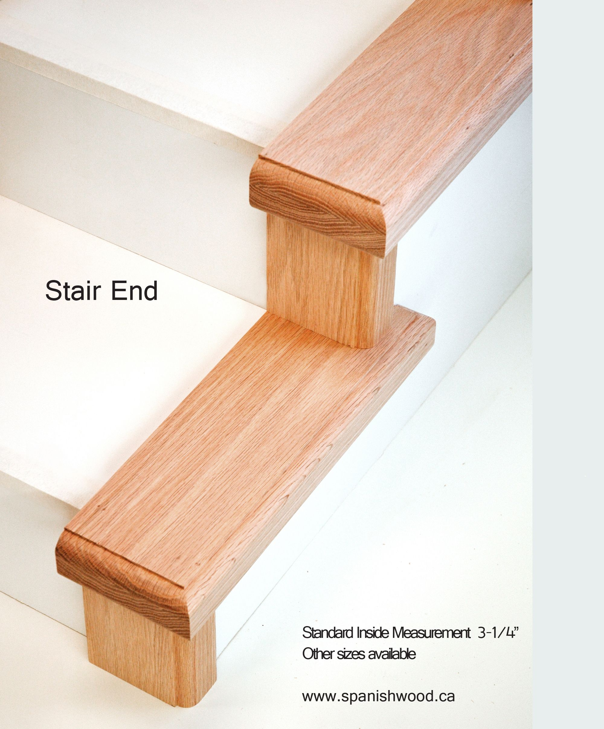 Stair Ends Can Be Used In Place Of Full Length Treads As A
