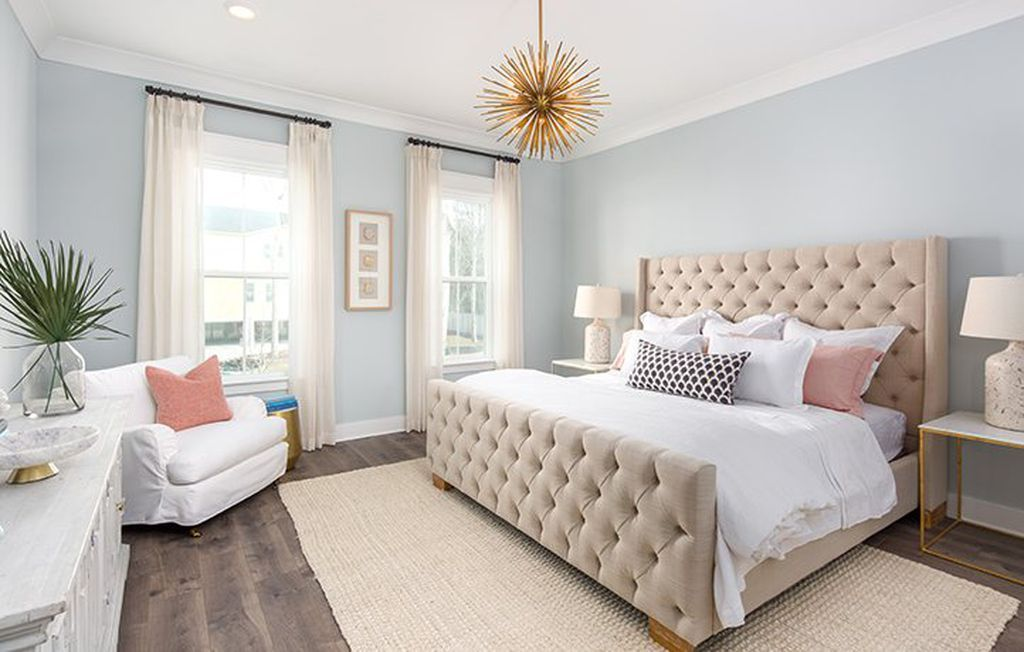 Light Blue Walls Paint Color For The Bedroom Bedroom In Pastel