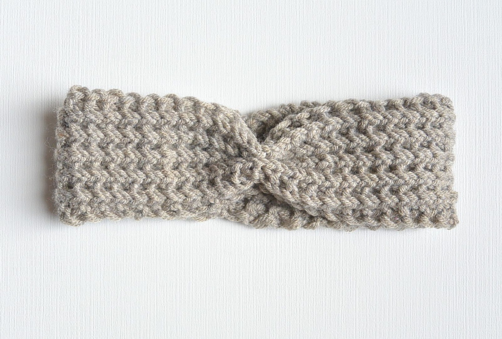 Half Fisherman Knit Headband & Downton Abbey Yarn in 2020 ...