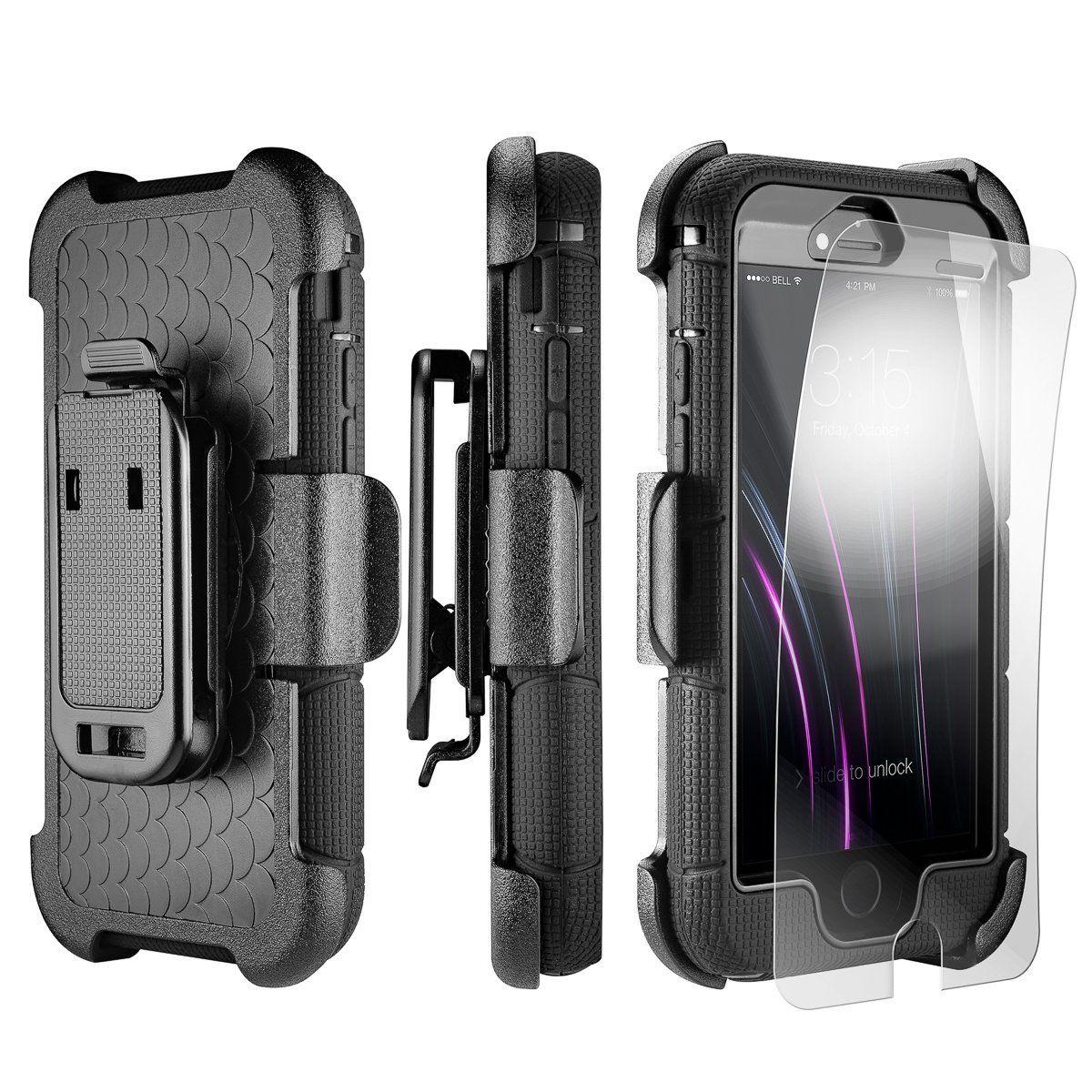 super popolare a4f70 0f439 Amazon.com: iPhone SE Case, iPhone 5 5s Case [Heavy Duty + ...