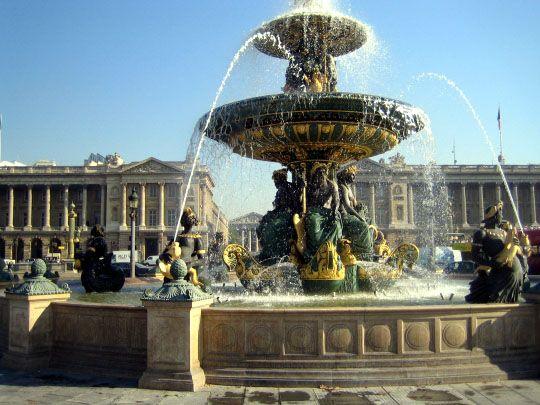 Place de la Concorde fountains--Chapter 66
