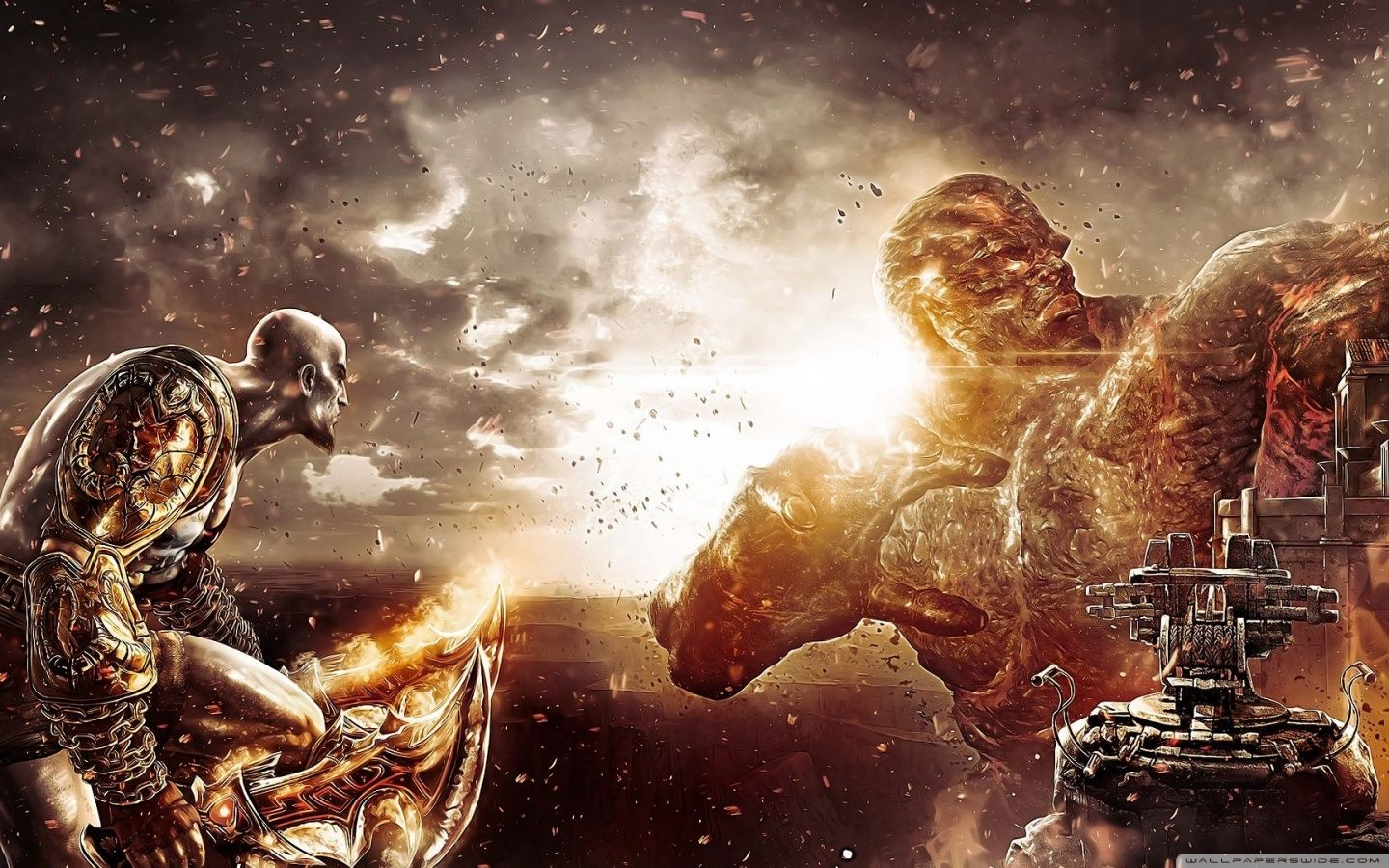 God Of War Wallpaper 1080p Firefox Wallpaper Free Download