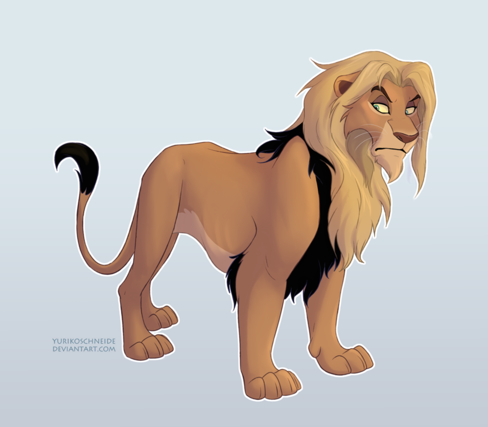 My Tlk Related Oc Son Of Scar And Nala The Lion King And