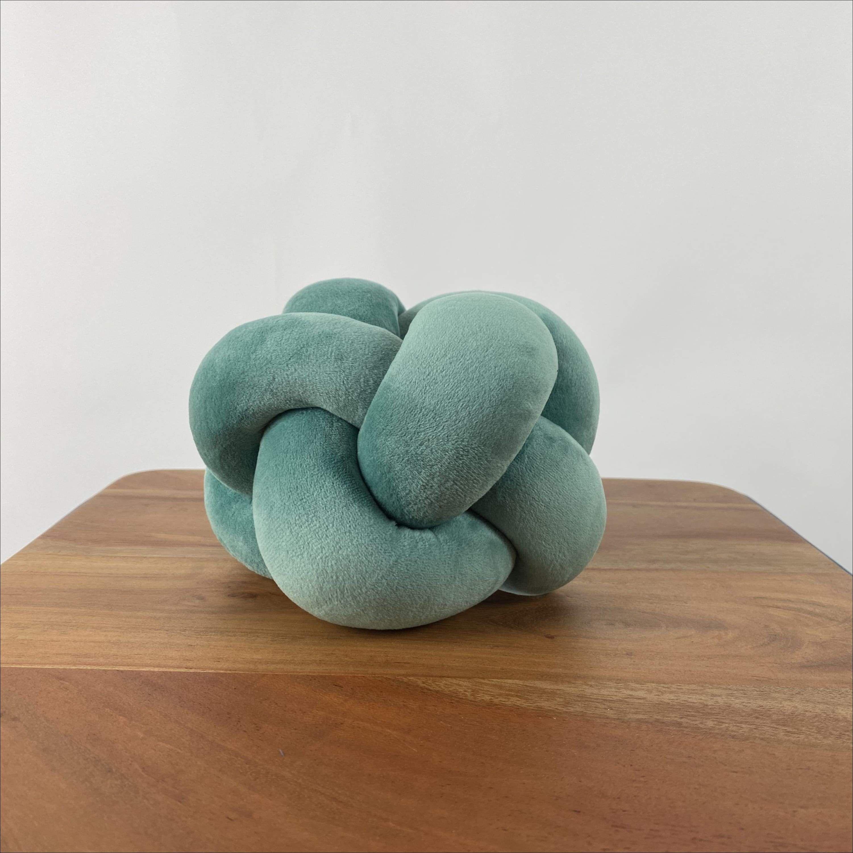 Eden Green - Small Velvet Decorative Knot