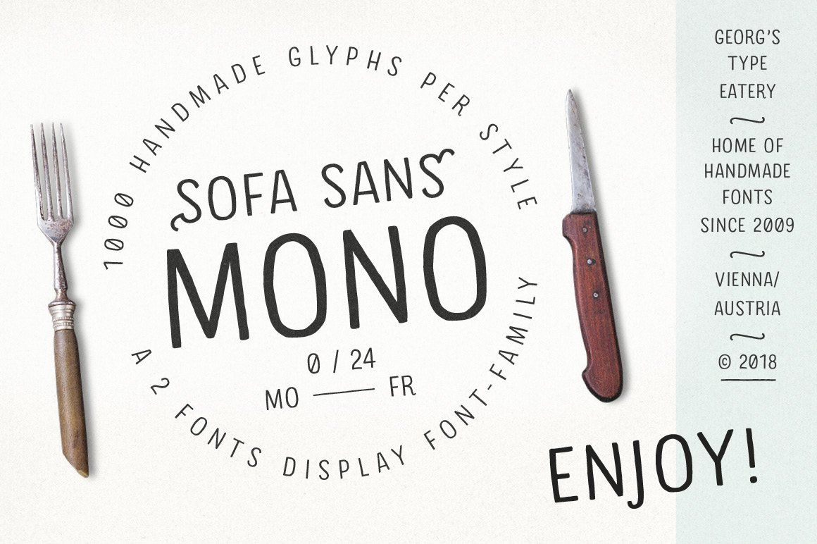 Download Pack of 2 Hand drawn Monoline Fonts Hand#drawn#Pack # ...