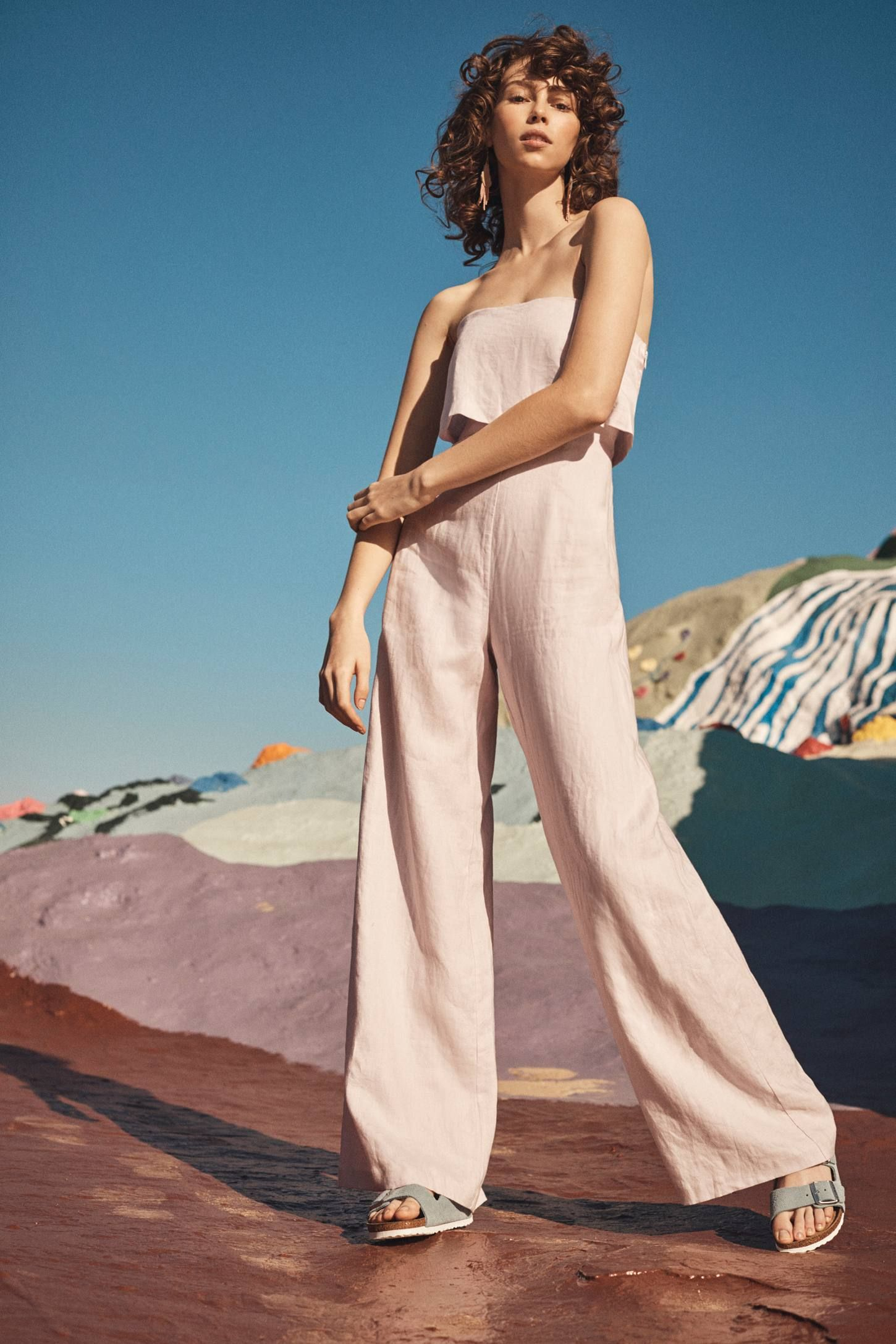 Anthropologie: Popover Linen Jumpsuit | 1. KindredKaiStyle~ Pants ...
