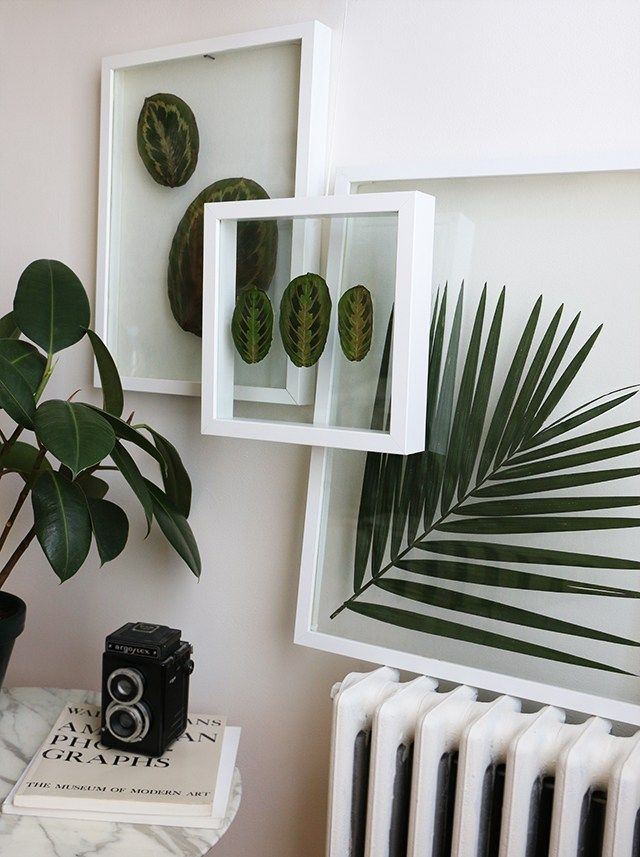 regardsetmaisons diy feuilles sous verre deco couloir en 2019 pinterest. Black Bedroom Furniture Sets. Home Design Ideas