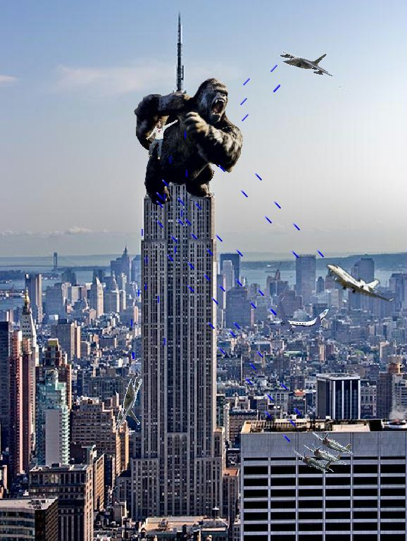 Image result for king kong empire state building