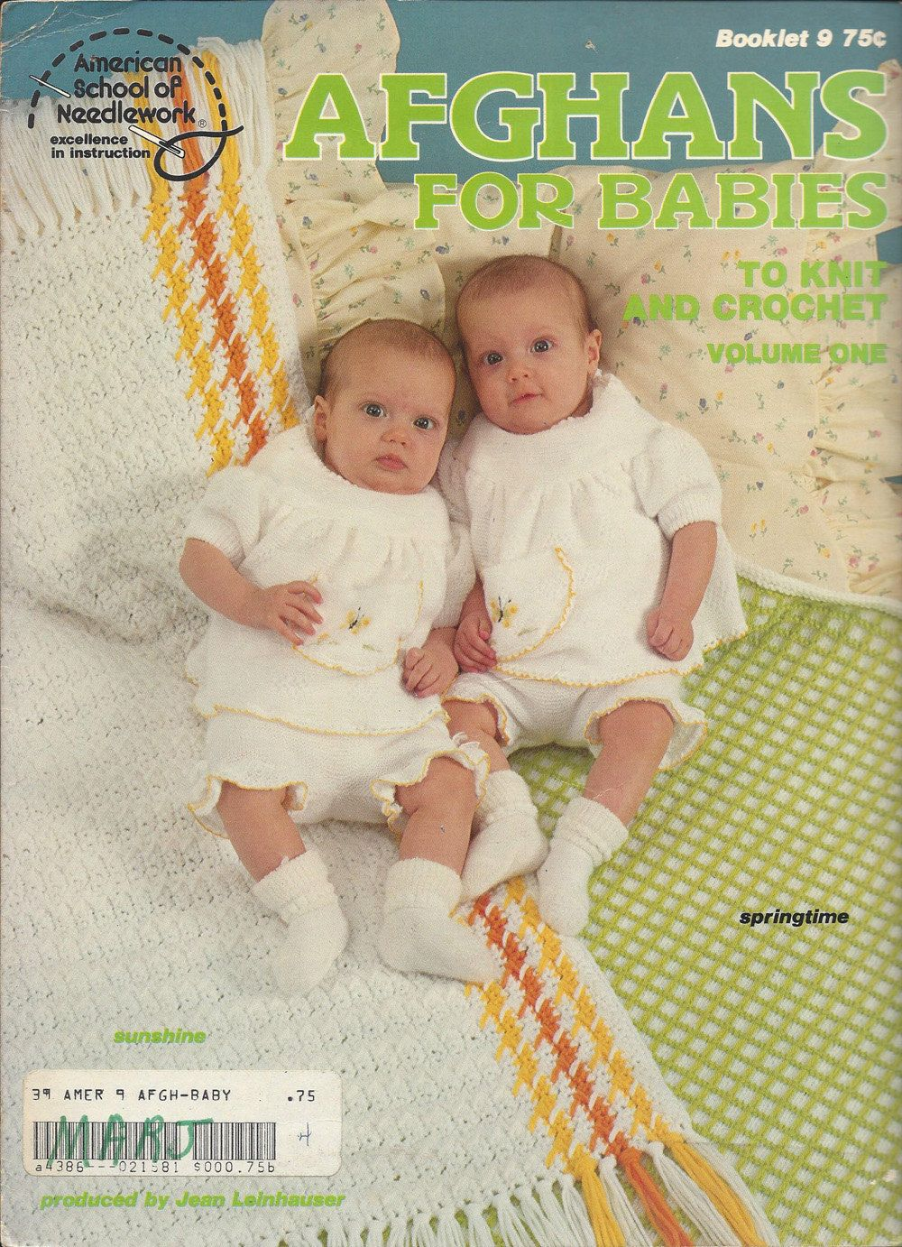 Afghans For Babies To Knit & Crochet Volume by KnitKnacksCreations
