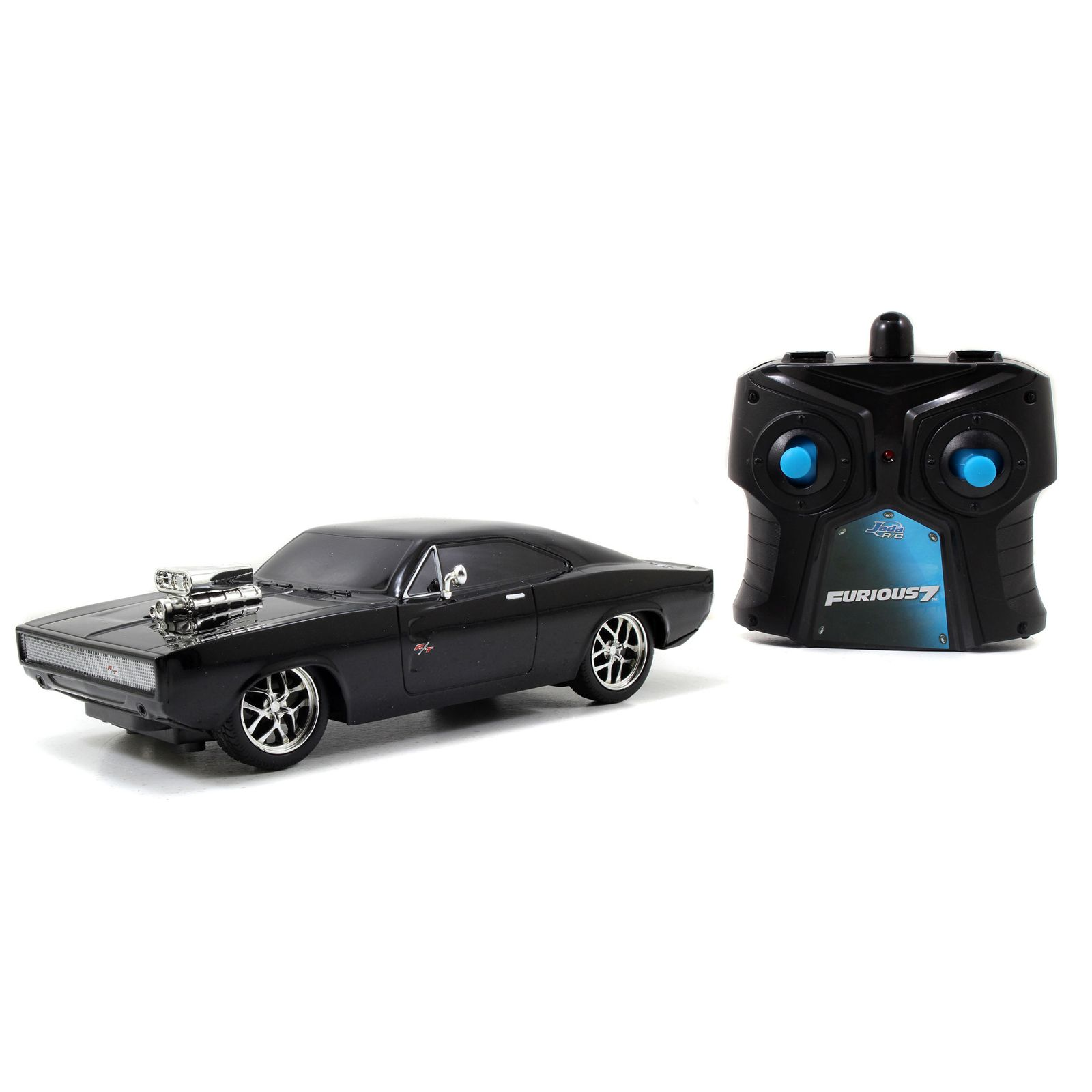 Jada Toys Fast And Furious 7 Inch Remote Control 1970 Dodge