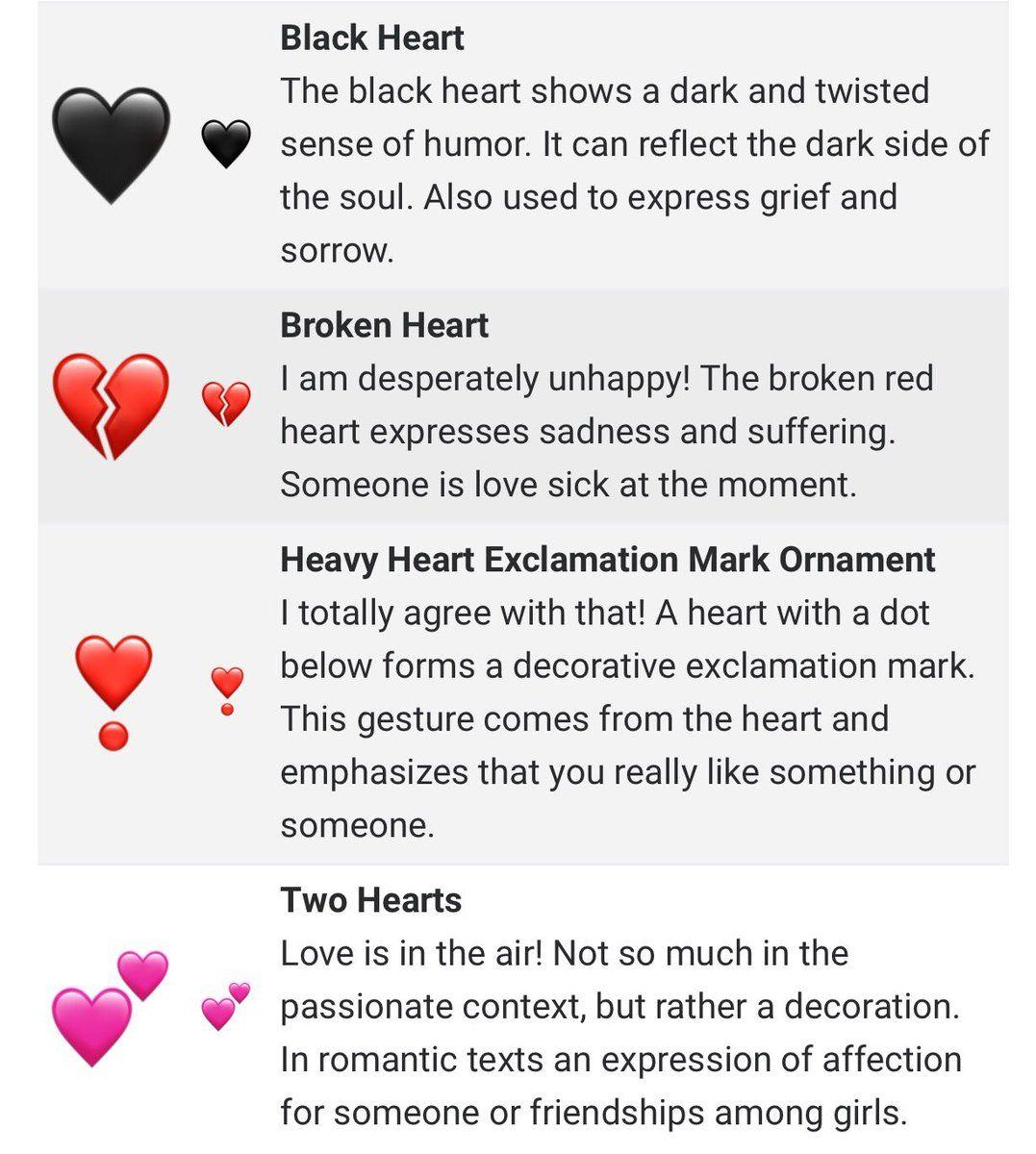 Pin by to🚬ba on لاو  Love sick, Black heart emoji, Heart emoji