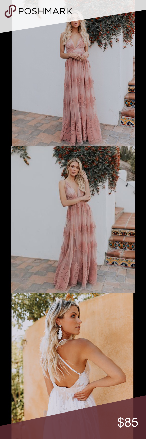 Vici Nwt Antonia Maxi Dress In Mauve Beautiful Maxi Dresses Dresses Maxi Dress [ 1740 x 580 Pixel ]