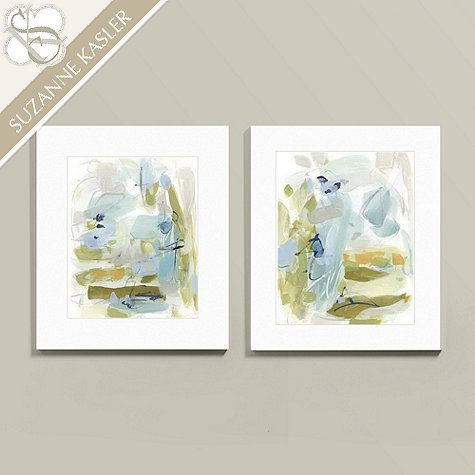 22 x 26 36 x 30 42 x 36 Suzanne Kasler Reflecting Abstract Framed ...
