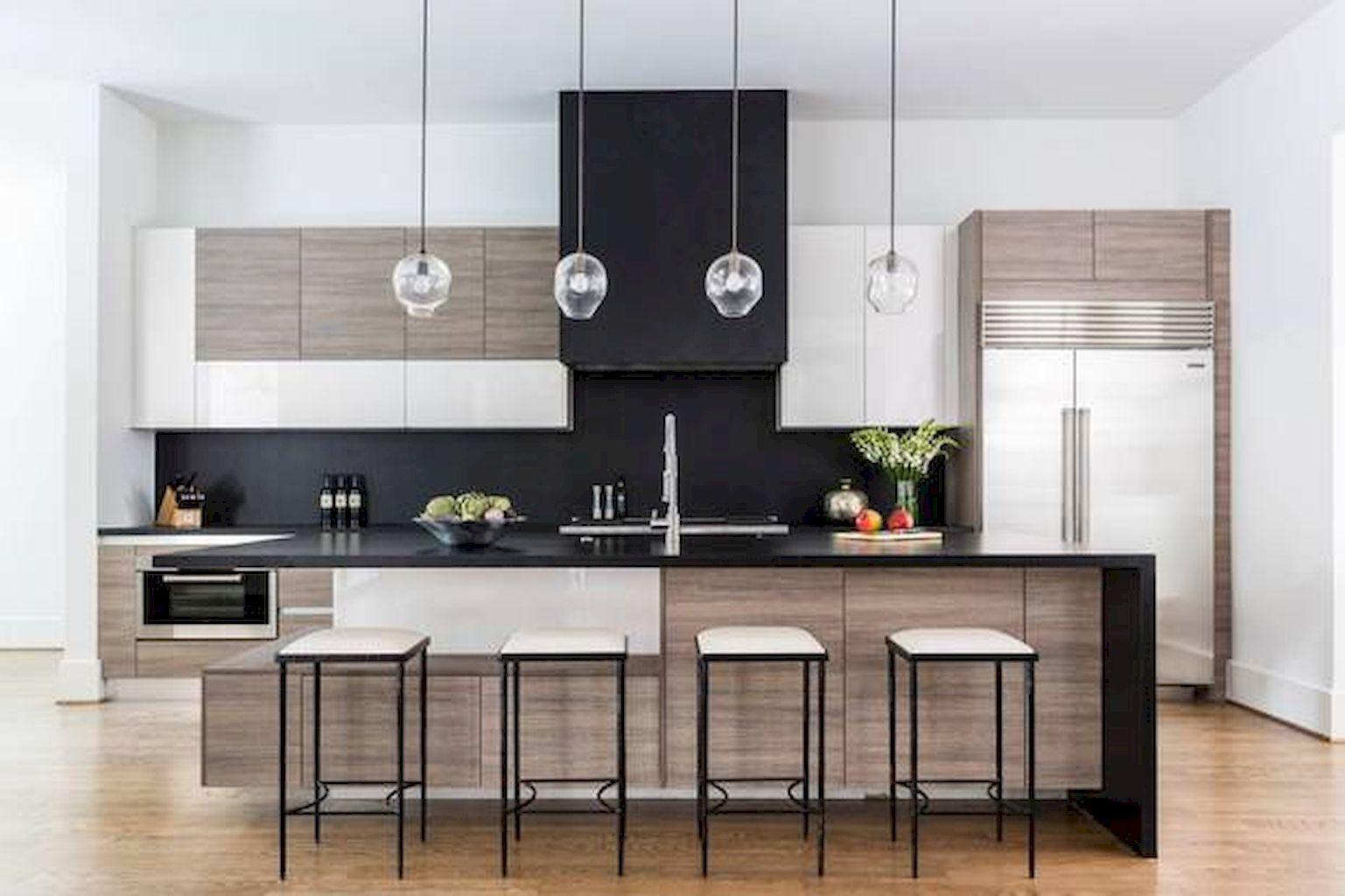 best sleek contemporary kitchen designs inspiration