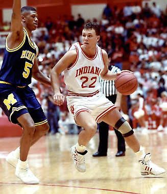 Damon Bailey Indiana Hoosiers Basketball Indiana Basketball Iu Hoosiers