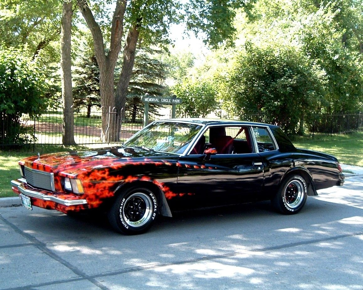 1978 Monte Carlo 1978 Chevrolet This Is What My Car Looks Like Without The Flames Has Factory Ts Chevrolet
