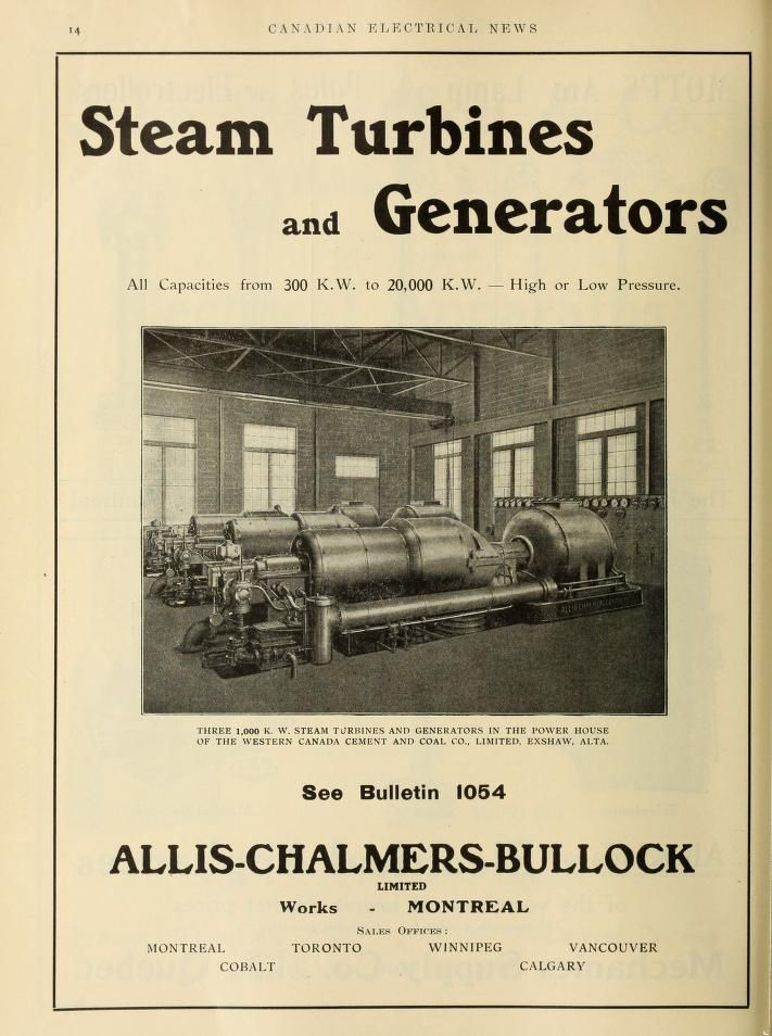 Electrical news and engineering | Allis-Chalmers Manufacturing ...