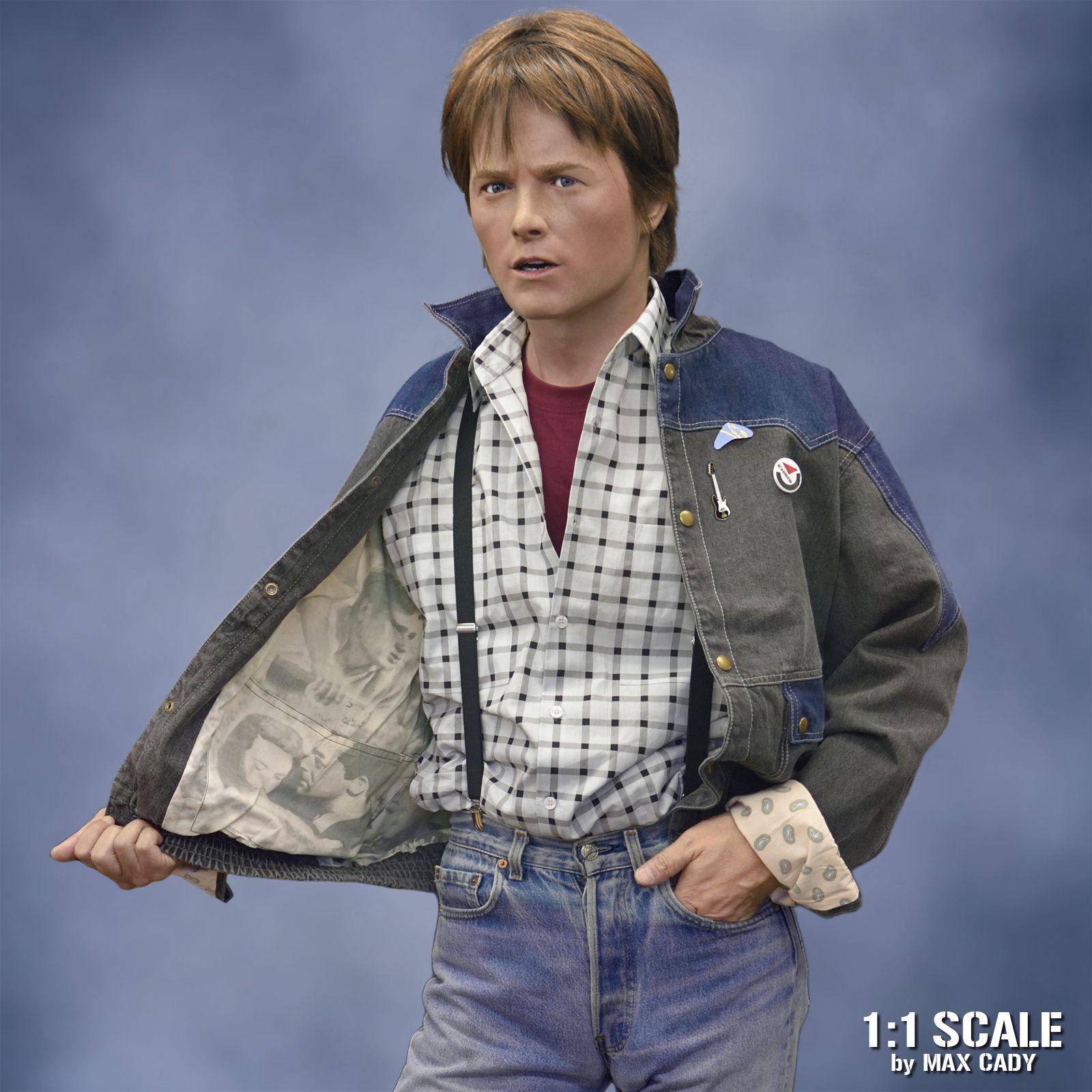 Back To The Future Denim Jacket Denim Jacket Jackets Marty Mcfly Jacket [ 1600 x 1600 Pixel ]