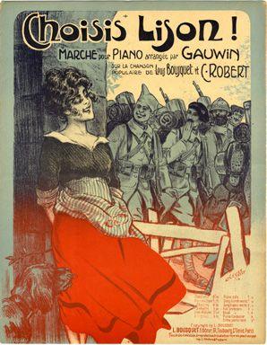 Choisis Lison !, 1918 (ill.: Clérice frères); ref. 736