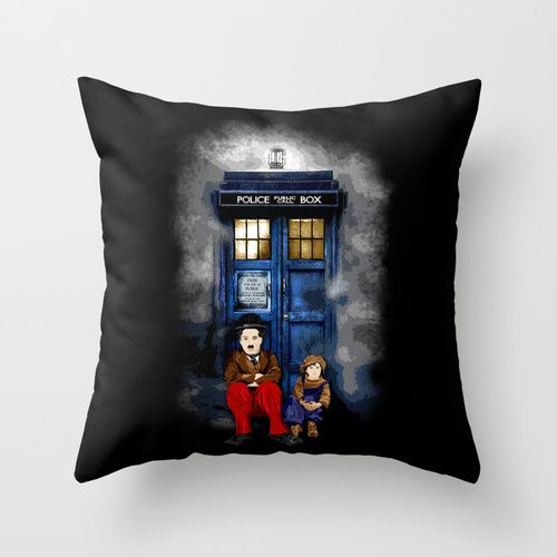 Charlie Chaplin Waiting the Doctor cushion Pillow Case 20\