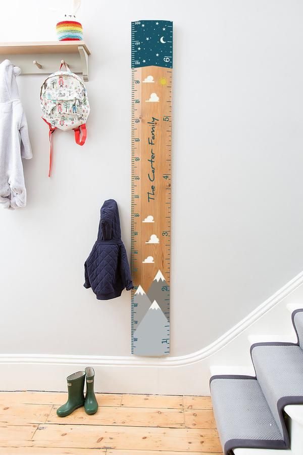 Photo of Bespoke Commission Height Chart
