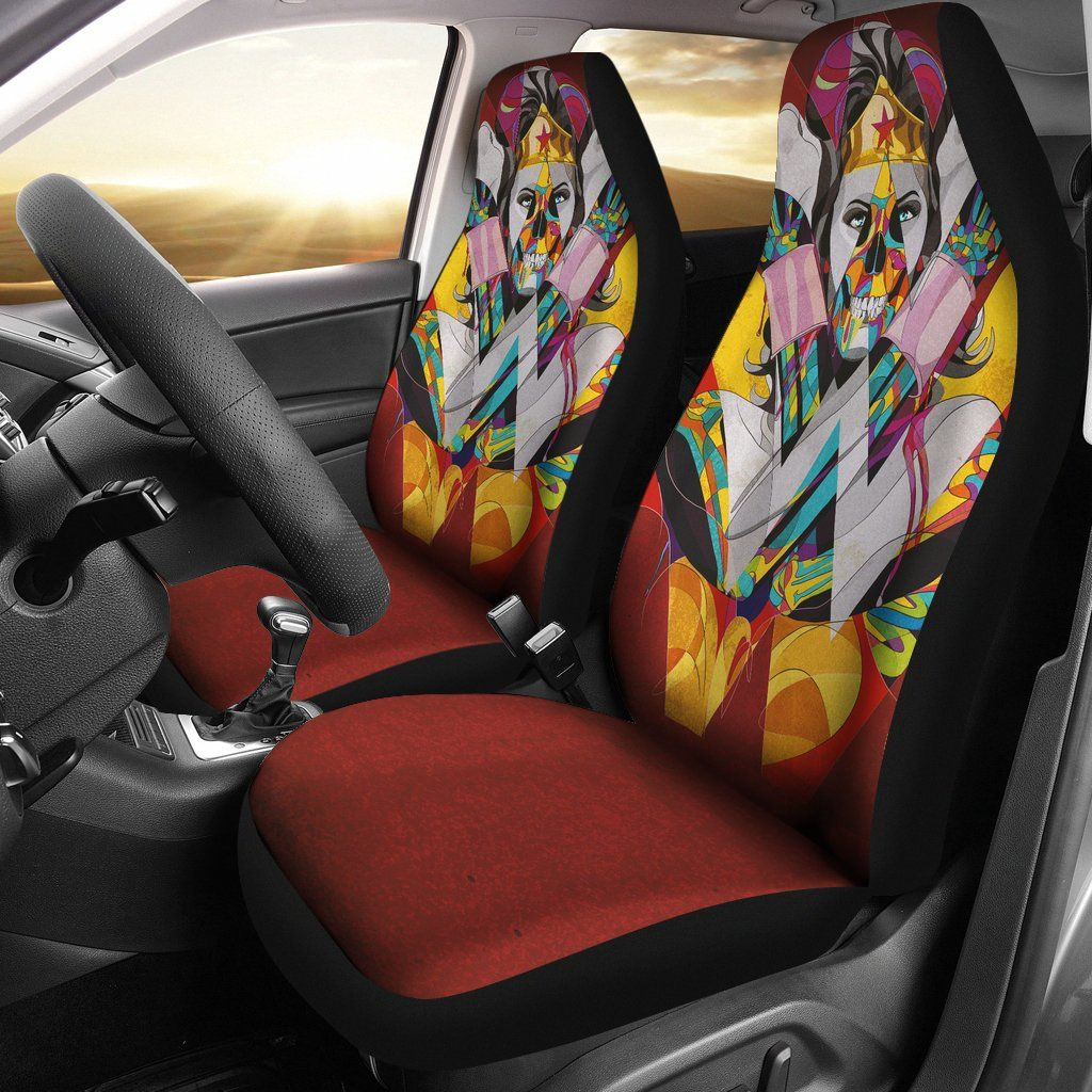 Wonder Woman Car Seat Covers