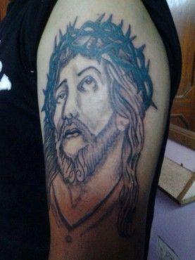 Jesus Christ tattoos by MJ\'s . Create Free online facebook gallery ...