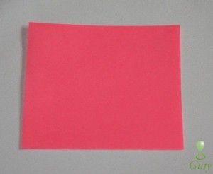 Kvetinová guľa papierová fotonávod 1