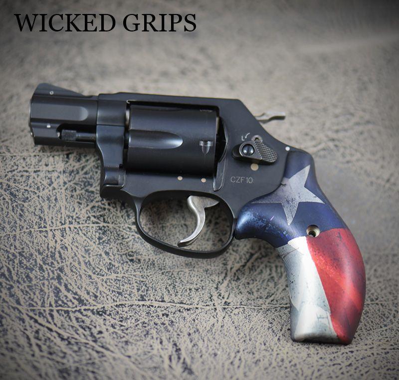 Custom smith & wesson j frame round butt texas v2 | Pinterest ...