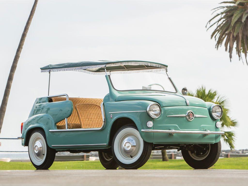 Fiat 600 Jolly 1959 | Ma future voiture + mon ex | Pinterest ...