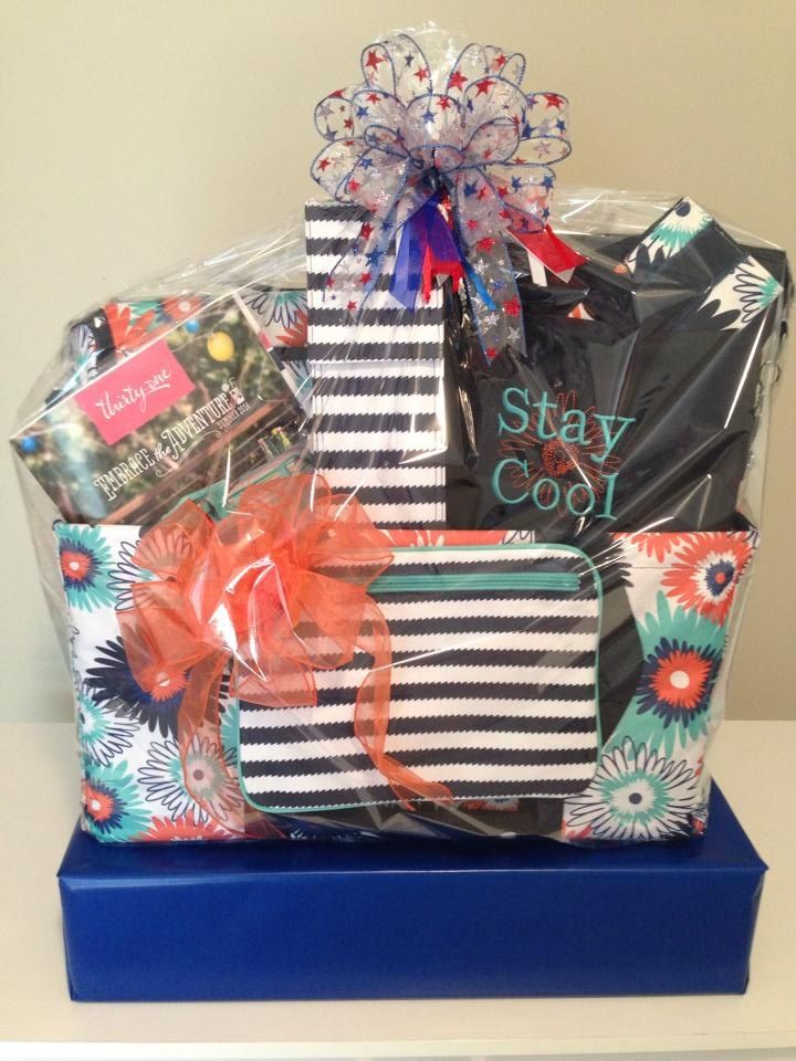 Thirty One Gift Basket Great For Gifts Or Fundraisers