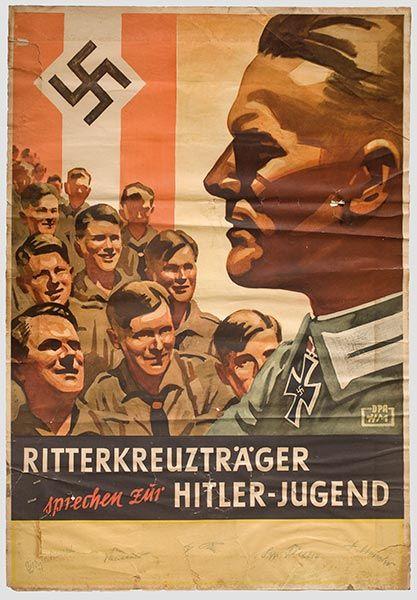Ritterkreuzträger sprechen zur Hitler-Jugend