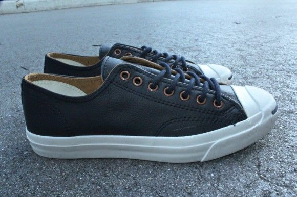 Jack Purcell Leather Ox Midnight Navy  2d8bb20ff