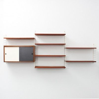 :: Wall Unit by Nisse Strinning for String Design AB ::