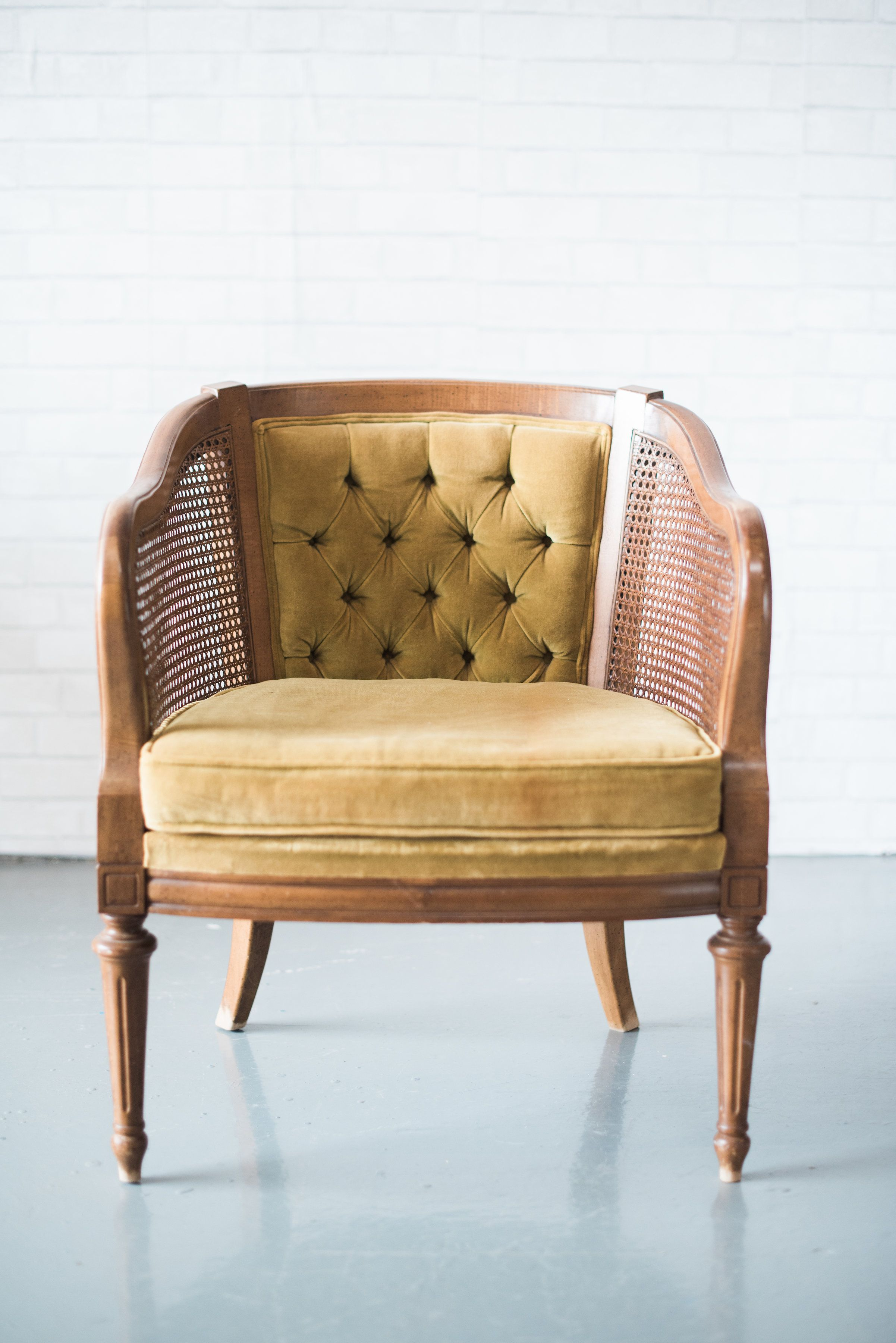 colonal mustard chair rentals for weddings and special events in