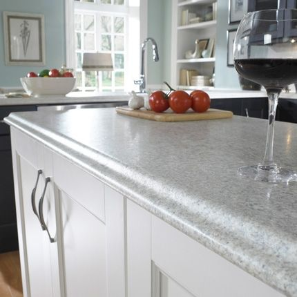 Wilsonart HD - A New Level of Laminate Counter - www.remodelingguy.net  Fancy edges are possible!