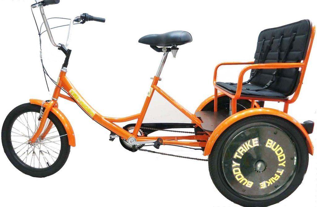 Belize bike tririder buddy trike 20 6 speed 2 passenger
