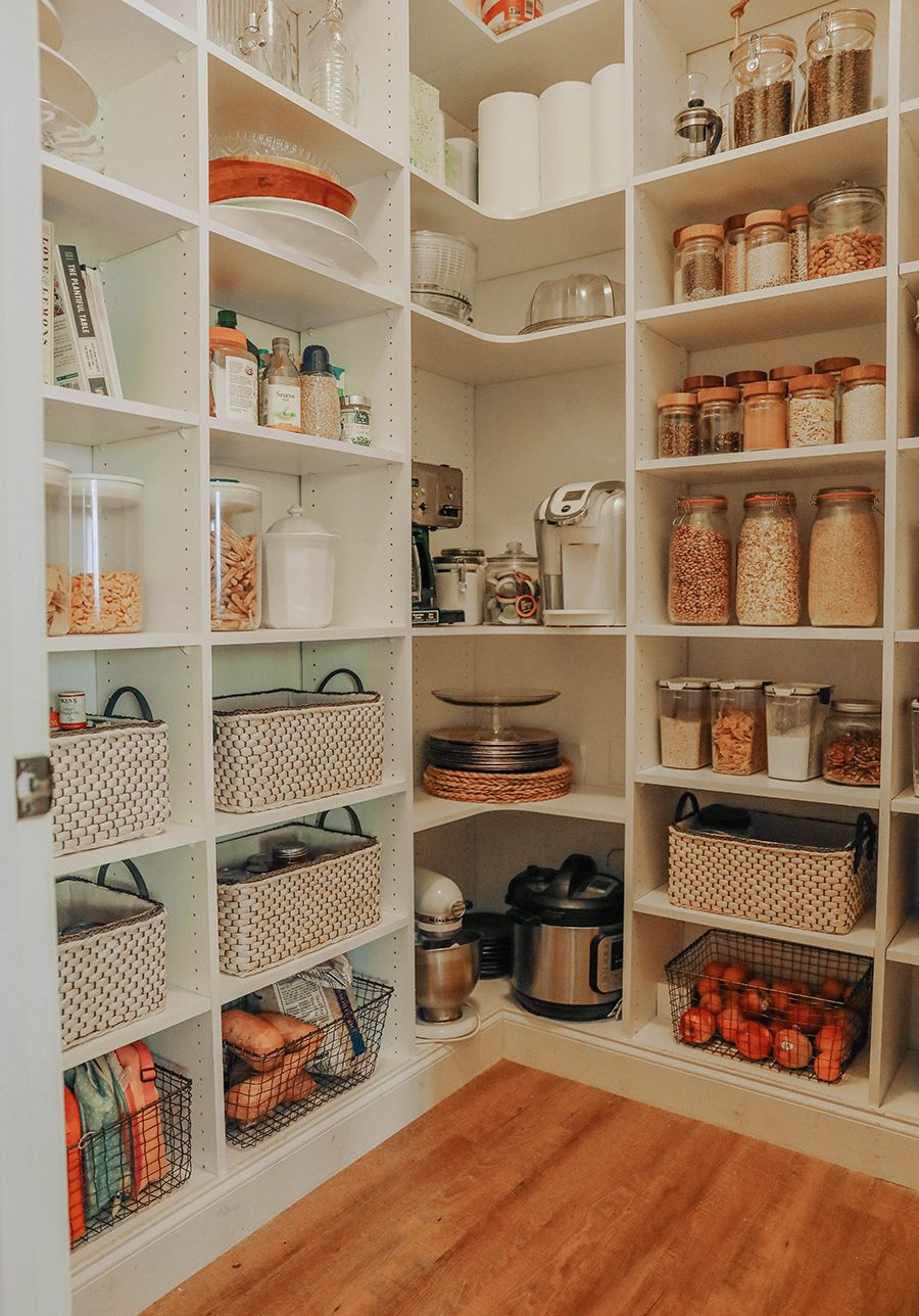 Pantry Organization + Grocery Planning. | In Honor Of Design #kitchenpantryorganization