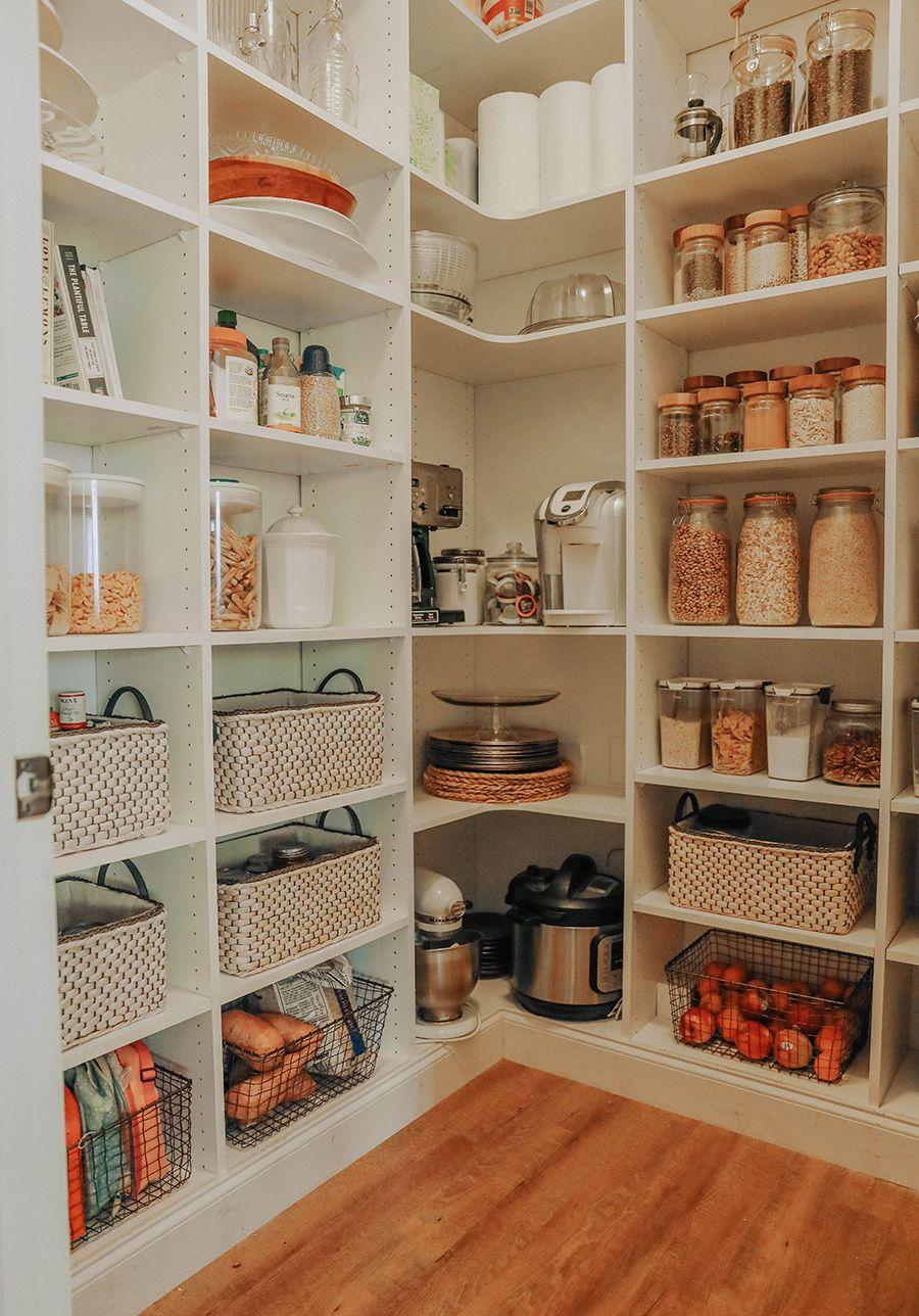 Pantry Organization + Grocery Planning. | In Honor Of Design #kitchenpantryorganization